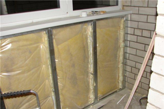 Утепленные балконы и лоджии фото своими руками